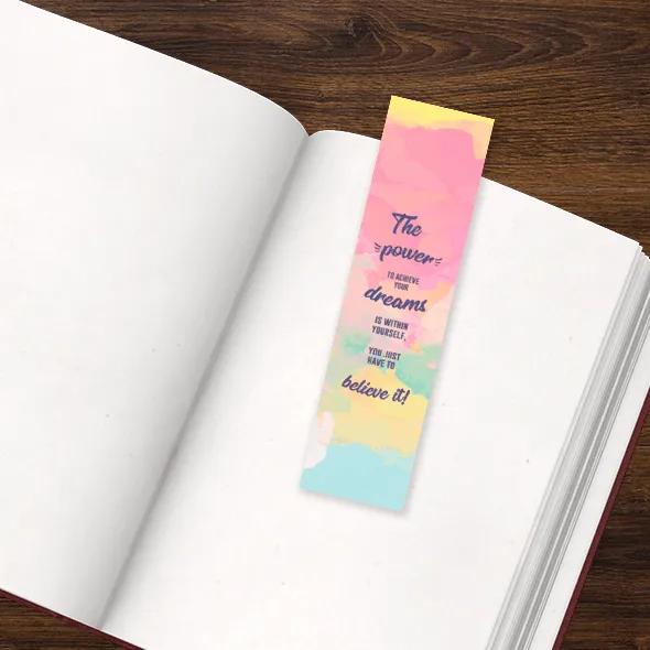 Marcadores para livros de pompom | Livros na Mochila